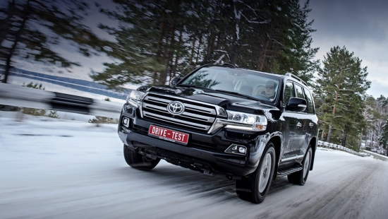 Тест-Драйв Toyota Land Cruiser 200 в русской тайге