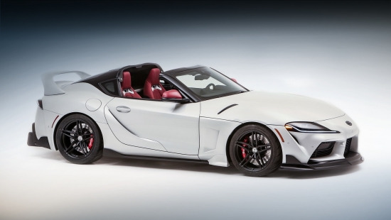 Debuted new Toyota Supra Sport Top