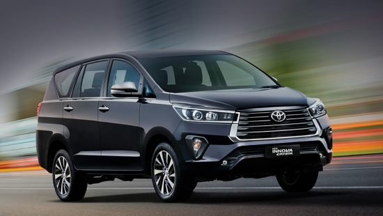 The budget compact MPV Toyota Innova Crysta received a restyling