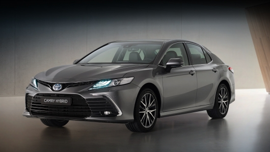 New Toyota Camry for Europe has seen the light