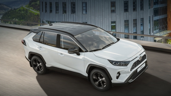 Black and white Toyota RAV4 Style prepares for release